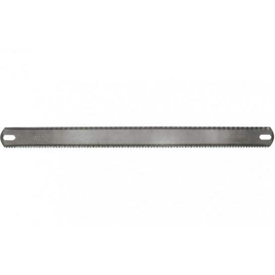Rauasaeleht 2-poolne puit,metall 300x25mm (72/tk pakk)