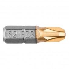 """Otsikud PZ3, 25mm, 1/4"""", 2tk"""