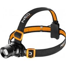 Pealamp LED-250lm, 3-watti, fookusega, 3xAAA
