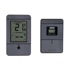 75c35912e03 Digitaalne sise-välis juhtmevaba termomeeter MIN-MAX näiduga, alumiinium