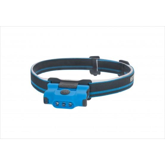 Pealamp, LED 48lm, 2xAAA, 16m, sinine kaasas kinnitus nokamütsile
