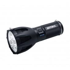 Taskulamp LED 2600lm, USB laadimine, 445m