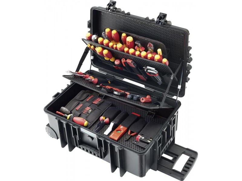 0a51a09444b VDE-Tööriistakohver 115-osaline WIHA ratastega kohver