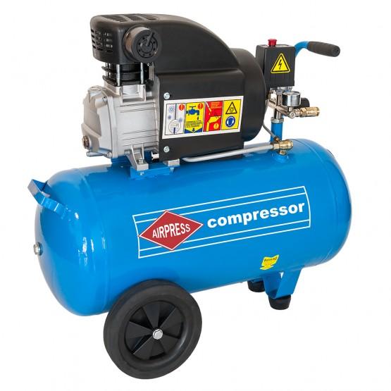 Kompressor 50l, 1,5kW/2HP, tootlikkus 275 l/min HL275-50